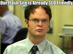 seo friendly flash website